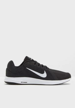 NIKE Downshifter Men's Zwart/Wit