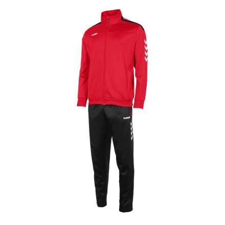 HUMMEL Valencia Poly Suit Rood/Zwart