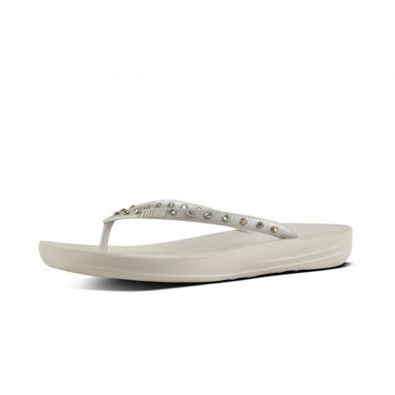 FITFLOP iQushion Zilver Kristal