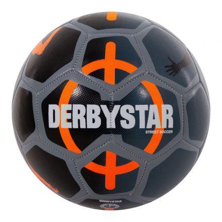 DERBYSTAR Street Soccer Ball Grijs