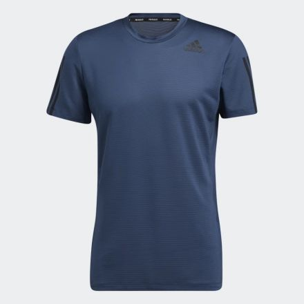 ADIDAS 3S Aero T-Shirt Navy