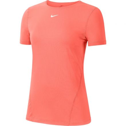 NIKE Pro Top SS Dames Coral