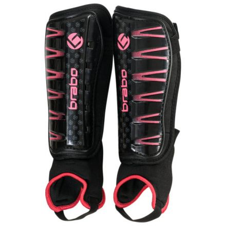 BRABO Shinguard F4 Black/Pink