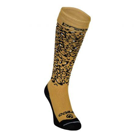 BRABO Cheetah Socks Paars