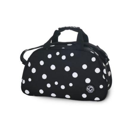 BRABO Shoulderbag Polka Dots Black