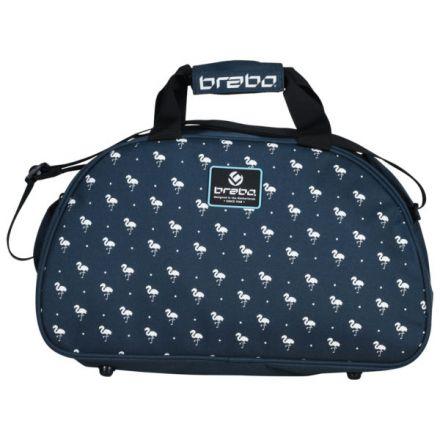 BRABO Shouldebag Flamingo Blauw