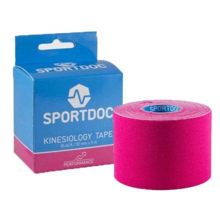 SPORTDOC Kinesiology Tape Pink