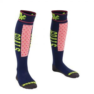 REECE Louth Socks Navy/Roze