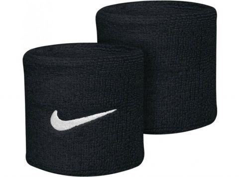 NIKE Swoosh Wristbands Zwart/Wit