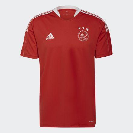 ADIDAS Ajax Trainingsshirt Jr. Rood