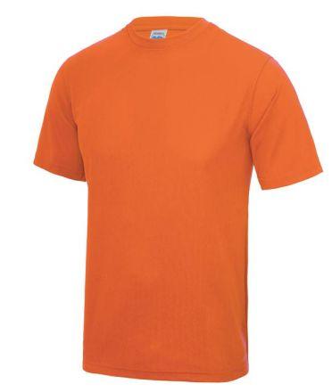 Sportshirt Fluor Oranje Junior