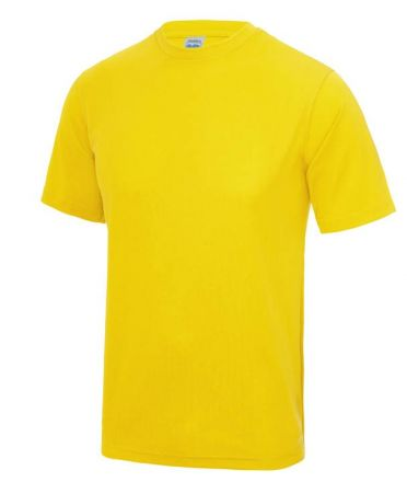 Sportshirt Geel Junior