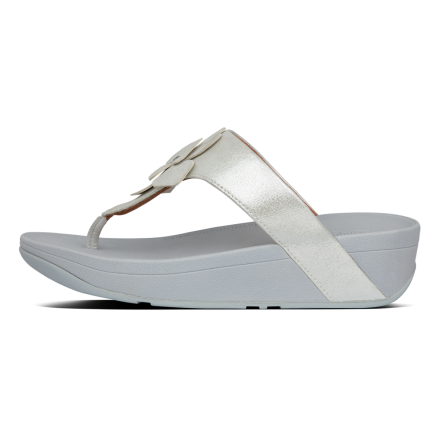 FITFLOP Lottie Slipper Suede Zilver