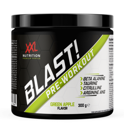 XXL Blast! Pre Workout Green Apple