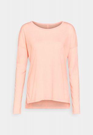 NIKE LS Yoga Shirt Dames Roze