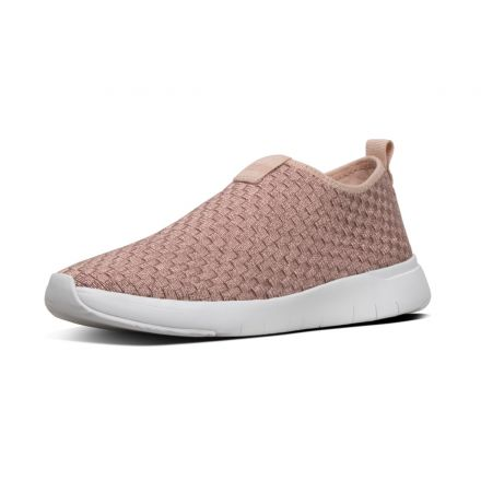 FITFLOP Stripknit Roze Slip-on