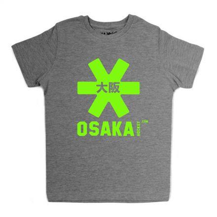 OSAKA Deshi Grey Tee Green Star
