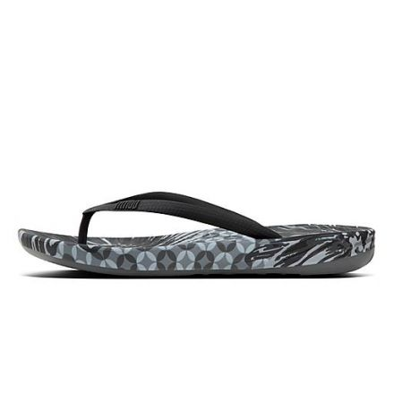 FITFLOP iQushion Daisy Zwart Mix