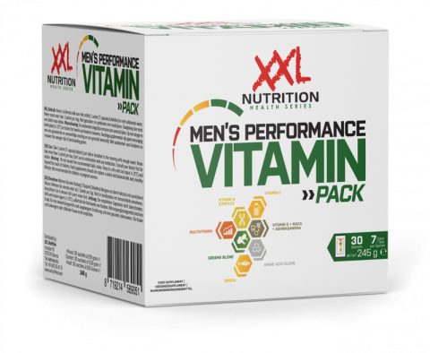 XXL Men's Performance Vitamin Pack