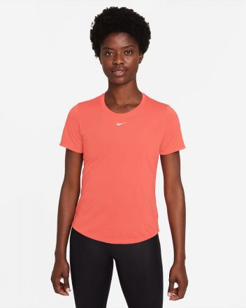NIKE Dri-Fit One SS Top Rood