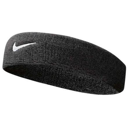 NIKE Swoosh Headband Zwart/Wit
