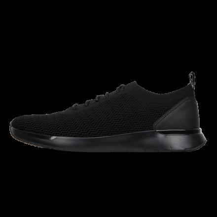 FITFLOP Flexknit Sneaker Man Zwart