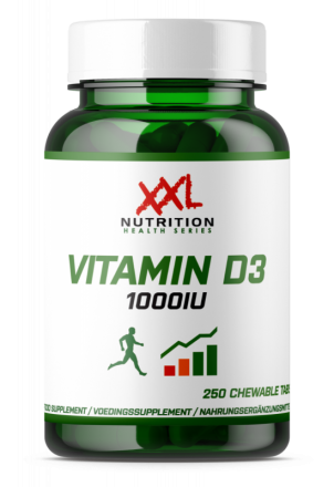 XXL NUTRITION Vitamine D3 1000iu