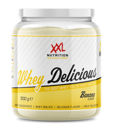 XXL NUTRITION Whey Delicious Banaan
