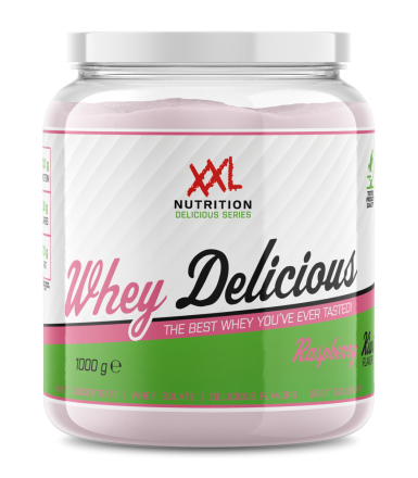 XXL NUTRITION Whey Delicious Aardbei