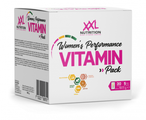XXL Women's Performance Vitamin Pack