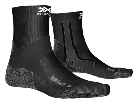X-SOCKS Run Fast Socks Zwart