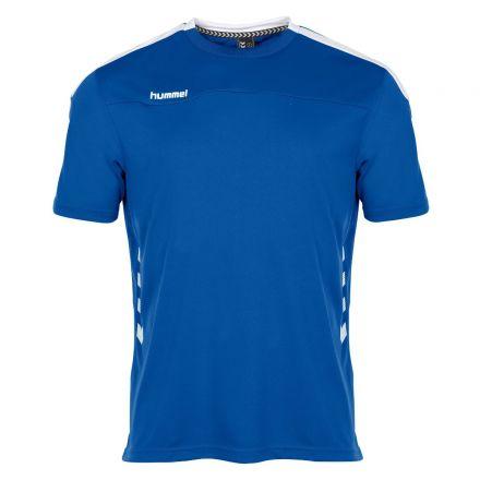 HUMMEL Valencia T-Shirt Kobalt/Wit