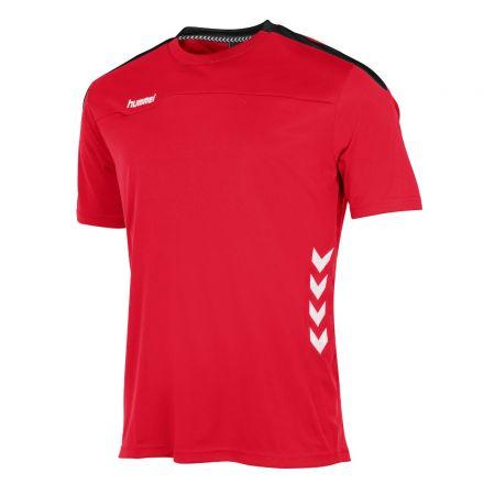 HUMMEL Valencia T-Shirt Rood/Zwart