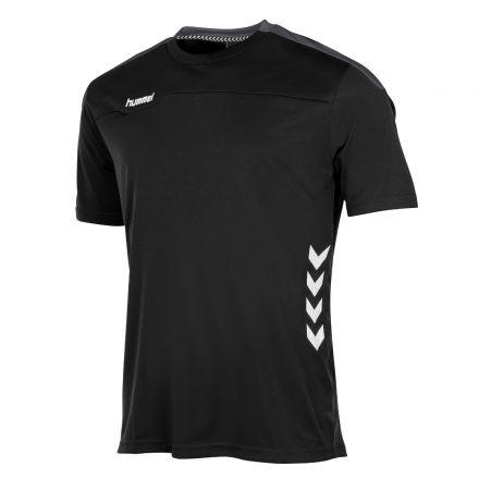 HUMMEL Valencia T-Shirt Zwart/Grijs