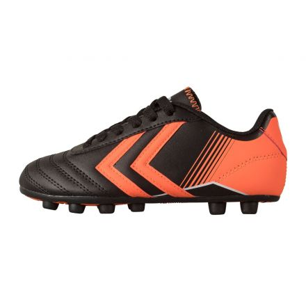 HUMMEL Saga JR FG Zwart/Oranje