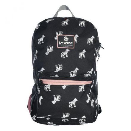 BRABO Backpack Zebra Zwart