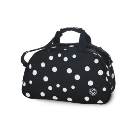BRABO Shoulderbag Polka Dots Black