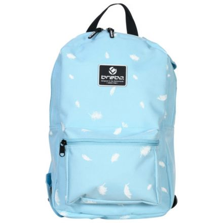 BRABO Backpack Storm Feathers Blauw
