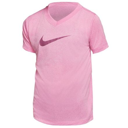 NIKE Pro Tee Meisjes Roze