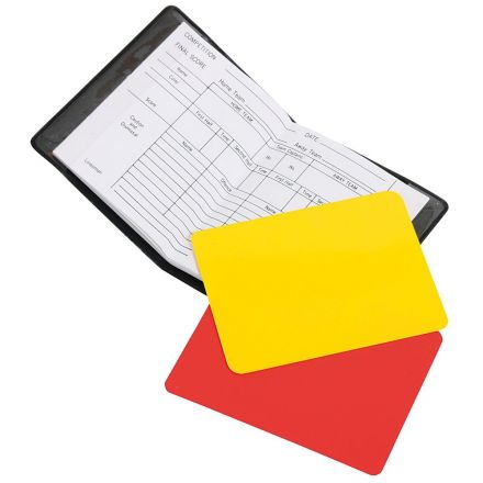 STANNO Referee cards