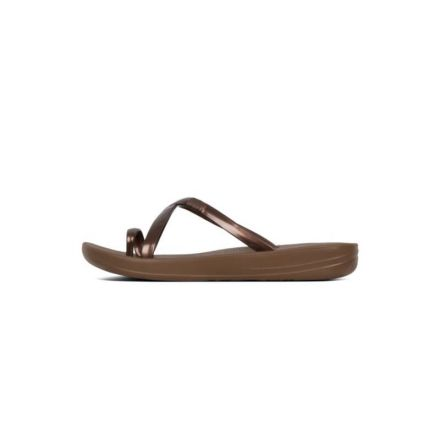 FITFLOP IQushion Wave Pearlised Bron