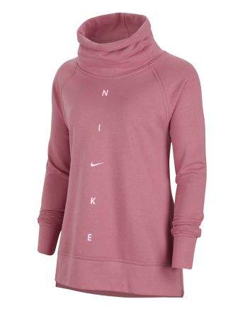 NIKE Dri-Fit GF Sweater Dames Roze