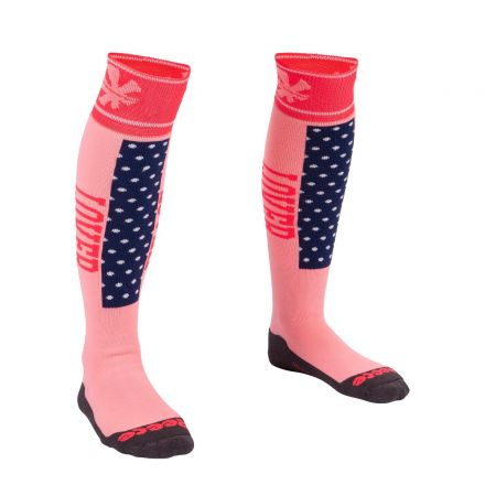 REECE Louth Sock Roze/Navy