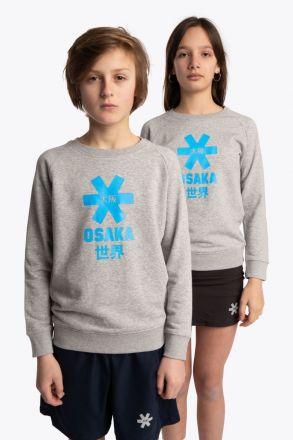 OSAKA Deshi Sweater Blue Star Grey