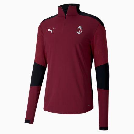 PUMA AC Milan 1/4 Zip Top Rood Sr.