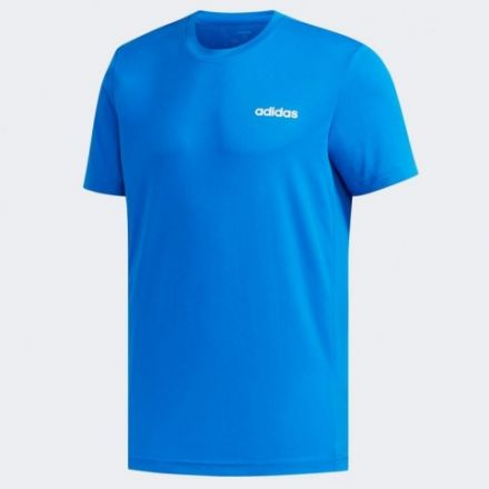 ADIDAS D2M T-Shirt Men's Blauw