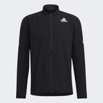 ADIDAS Aero Jacket Zwart/Wit