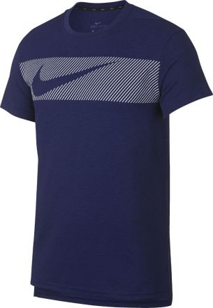 NIKE Breathe Top GFX Men's Blauw
