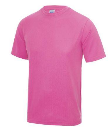 Sportshirt Fluor Roze Junior
