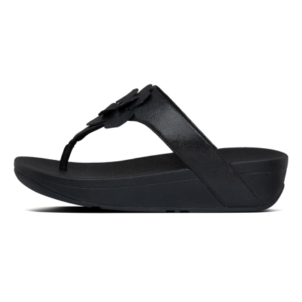 FITFLOP Lottie Slipper Suede Black